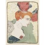 Grafika-00173 Henri de Toulouse-Lautrec : Mademoiselle Marcelle Lender, 1895