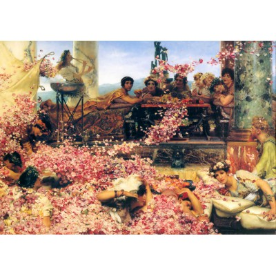 Grafika-00176 Sir Lawrence Alma-Tadema : The Roses of Heliogabalus