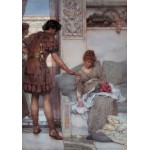 Grafika-00182 Sir Lawrence Alma-Tadema : A Silent Greeting