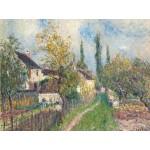 Grafika-00183 Alfred Sisley : Un Sentier aux Sablons, 1883