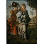 Grafika-00188 Botticelli Sandro : Le Retour de Judith à Béthulie, 1470