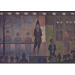 Grafika-00193 Georges Seurat : La Parade de Cirque, 1888