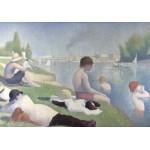 Grafika-00194 Georges Seurat : Une baignade à Asnières, 1884