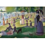 Grafika-00197 Georges Seurat : Un Dimanche Après-Midi à l'île de la Grande Jatte, 1884-1886