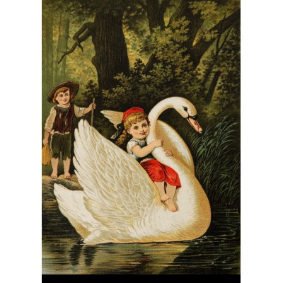 Grafika-00205 Carl Offterdinger : Hansel et Gretel, fin XIXe Siècle