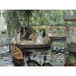 Grafika-00214 Auguste Renoir : La Grenouillère, 1869