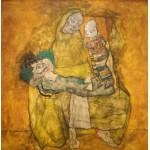 Grafika-00218 Egon Schiele : Mère avec Deux Enfants II, 1915