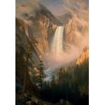 Grafika-00230 Albert Bierstadt : Les Chutes de la Rivière Yellowstone, 1881