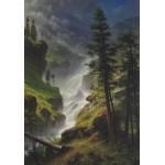Grafika-00231 Albert Bierstadt : Chute d'Eau dans les Rocheuses, 1898