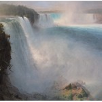 Grafika-00237 Frederic Edwin Church : Les Chutes du Niagara - Côté Américain, 1867