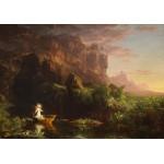 Grafika-00243 Thomas Cole : Le voyage de la Vie - L'enfance, 1842