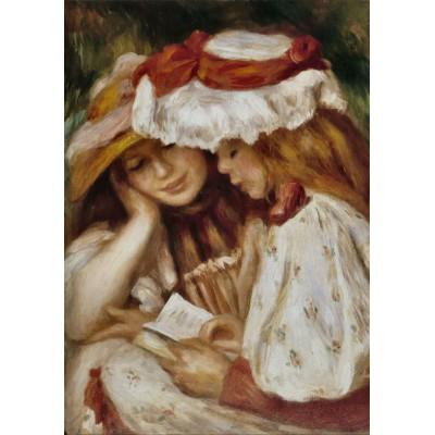 Grafika-00267 Auguste Renoir : Jeunes Filles lisant, 1890-1891