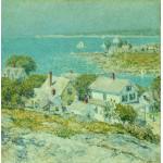 Grafika-00274 Childe Hassam : New England Headlands, 1899