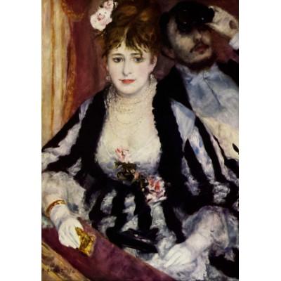Grafika-00283 Auguste Renoir : La Loge, 1874