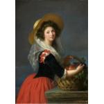 Grafika-00302 Elisabeth-Louise Vigée Le Brun : Portrait de Marie Gabrielle de Gramont, Duchesse de Caderousse, 178