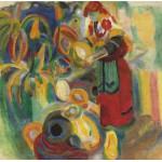 Grafika-00315 Robert Delaunay : La Grande Portugaise, 1915