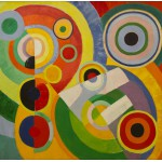 Grafika-00319 Robert Delaunay : Rythme, Joie de Vivre, 1930