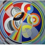 Grafika-00323 Robert Delaunay : Rythme n°1, 1938