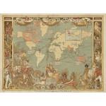 Grafika-00327 Walter Crane : The British Empire, 1886