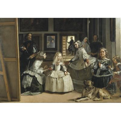Grafika-00338 Diego Velázquez - Las Meninas, 1656