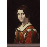 Grafika-00360 Léonard de Vinci : La Belle Ferronnière, 1490-1496