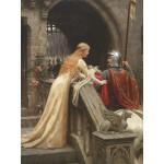 Grafika-00369 Edmund Blair Leighton : Dieu te protège, 1900