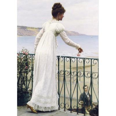 Grafika-00377 Edmund Blair Leighton : A Favour, 1898