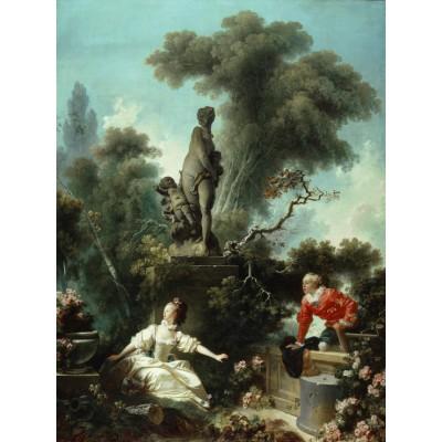 Grafika-00392 Jean-Honoré Fragonard : Les Progrès de l'Amour - Le rendez-vous, 1771-1773
