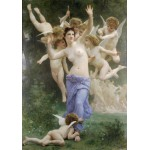 Grafika-00398 William Bouguereau : Invitation, 1893