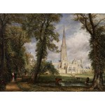 Grafika-00401 John Constable : La Cathédrale de Salisbury, 1825