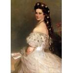 Grafika-00404 Franz Xaver Winterhalter : L'impératrice Elisabeth d'Autriche, 1865