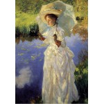 Grafika-00412 John Singer Sargent : Morning Walk, 1888