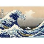 Grafika-00430 Katsushika Hokusai : La Grande Vague de Kanagawa, 1823-1829