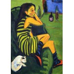 Grafika-00437 Ernst Ludwig Kirchner : Artistin - Marcella, 1910