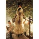 Grafika-00442 James Tissot : Sur la Tamise, 1882