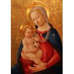Grafika-00447 Master of the Castello Nativity : La Vierge et l'Enfant, 1460