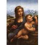 Grafika-00464 Léonard de Vinci : La Madone aux Fuseaux (copie), vers 1501