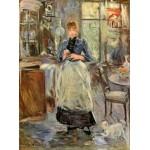 Grafika-00475 Berthe Morisot : Dans la Salle à Manger, 1875