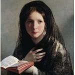 Grafika-00485 Friedrich von Amerling : Perdue dans les Rêves, 1835