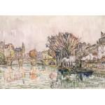 Grafika-00494 Paul Signac : Le Pont Neuf - Paris, 1928