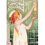 Grafika-00496 Alfons Mucha : Absinthe Robette, 1896
