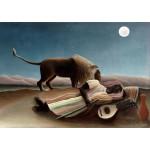 Grafika-00502 Henri Rousseau : La Bohémienne Endormie, 1897