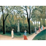 Grafika-00503 Henri Rousseau : Le Jardin du Luxembourg, 1909