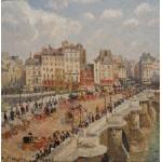 Grafika-00514 Camille Pissarro : Le Pont-Neuf, 1902