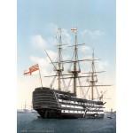 Grafika-00521 HMS Victory in Portsmouth, 1900