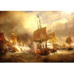 Grafika-00522 Théodore Gudin : Bataille d'Ouessant, 1848