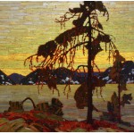 Grafika-00545 Tom Thomson : Le Pin Gris, 1916
