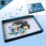 Grafika-00568 1 Boîte de Tri Bleue - 24 x 22 x 2.5 cm
