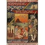 Grafika-00607 Affiche pour les Chemins de Fer de l'Ouest , 1900
