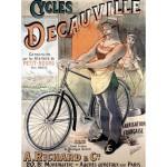 Grafika-00610 Affiche pour les Vélos Decauville, 1892